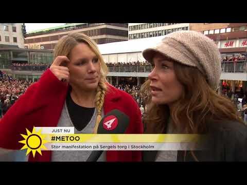 """Tilde de Paula Esby om #MeToo: """"Stolt över att det äntligen kommer ut!"""" - Nyhetsmorgon (TV"""