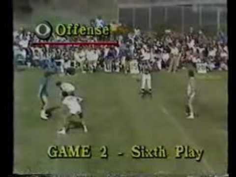 Mark Harmon - Battle(s) of the Network Stars - 3 on 3 football (part 1).flv