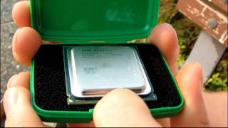 AMD Socket C32 DDR3 Quad Core Opteron Engineering Sample Unboxing & First Look Linus Tech Tips