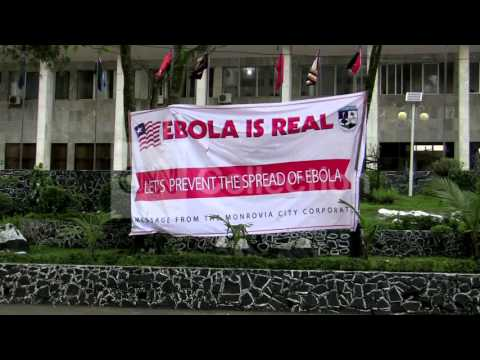 LIBERIA:COMMUNITY FIGHTS EBOLA