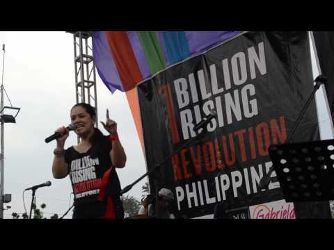 Monique Wilson One Billion Rising for Revolution 14feb2015