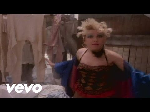 Cyndi Lauper - Hole In My Heart