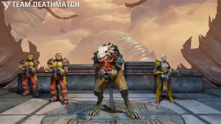Quake Champions(Beta 1.4): Sorlag TDM on Blood Covenant