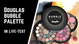 Douglas Bubble Palette im Live Test
