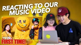 REACTING TO OUR NEW SONG