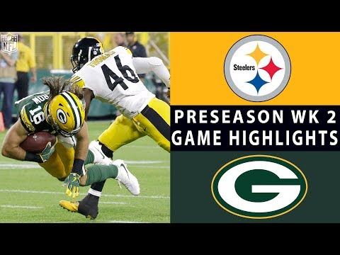 Steelers vs. Packers Highlights | NFL 2018 Preseason Week 2