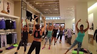 Ballet Boot camp at Calvin Klein Performance June 17, 2017