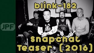 blink-182 Studio Teaser (2016)