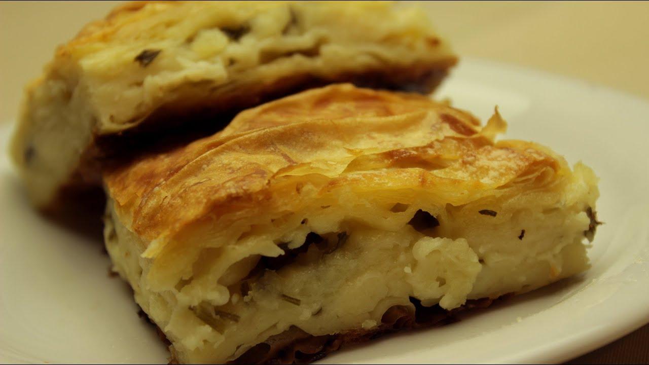 Potato And Cheese Sigara Burek Recipe — Dishmaps