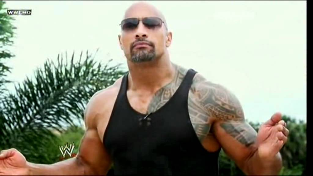 the rock says Often the subject of tabloids, when asked about paparazzi and the other negative aspects of fame, rock says he accepts the bad with the good:.