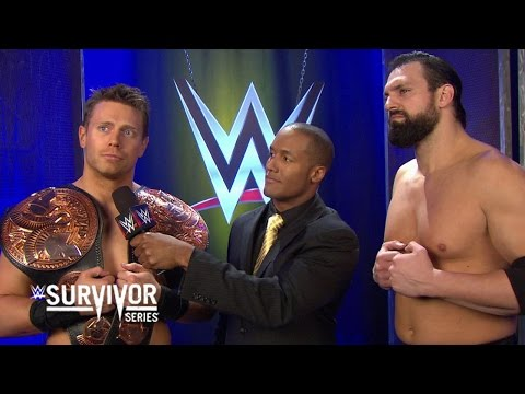The Miz Gloats After Winning The Wwe Tag Team Championships With Damien Mizdow - Survivor Series video