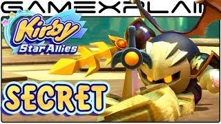Kirby Star Allies - Meta Knight Gets Annoyed Easter Egg (Boss Fight Secret)