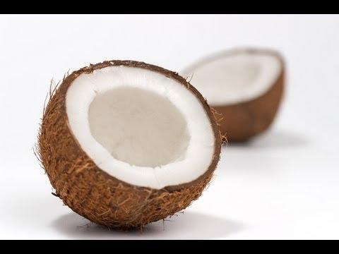 Como abrir cocos en casa