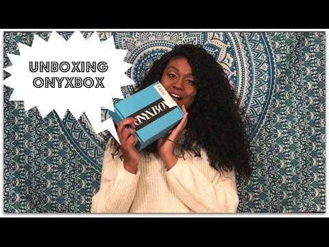 NOVEMBER 2016 ONYXBOX UNBOXING