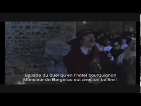 Duel Cyrano de Bergerac avec Gérard Depardieu