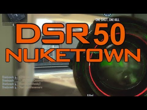 Nuketown Arms Race DSR 50 PWNAGE oh joy new camo -_-