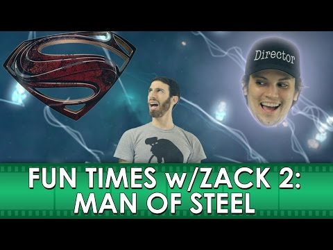"""Fun Times with Zack 2: Man of Steel Movie """"Review"""" (Belated Media)"""