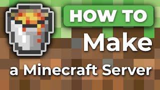 MINE Tut'z - How To Make a Minecraft Server