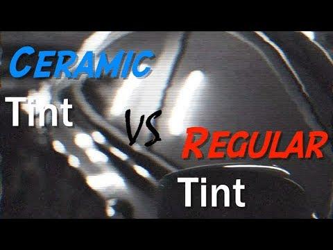 CERAMIC TINT vs REGULAR TINT (yuuuge difference)