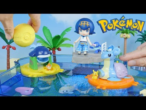 Pokemon Water Park   Candy Toys & PokeBall Bath Bomb - Surprise Toys For Kids