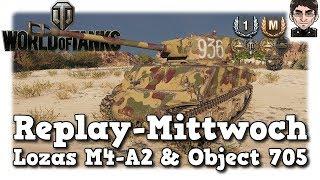 World of Tanks - Lozas M4-A2 Sherman & Object 705, untypischer & typischer Russe [deutsch | Replay]