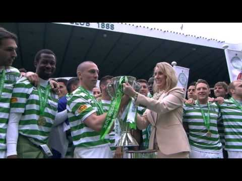 Celtic Champions SPL Trophy Presentation, 11/05/2013