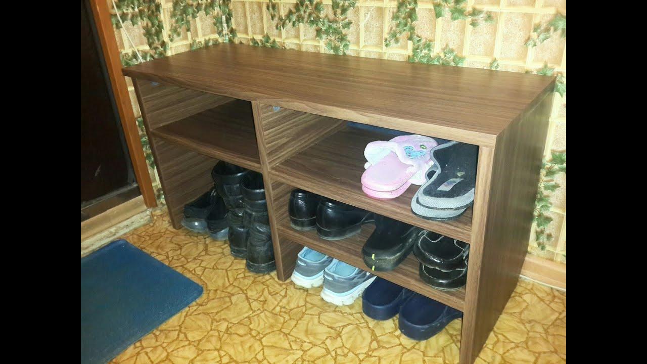 Полка для обуви своими руками из старого шкафа