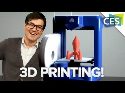 Make Anything with this Amazing 3D Printer from CES 2013