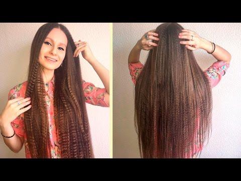 Как длинные волосы сделать объемнее