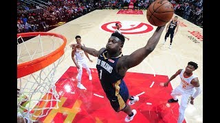 Zion Williamson Put on a Dunk Show in His Preseason NBA Debut