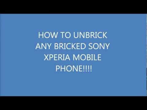 How To Unbrick Any Bricked Sony Xperia Phone