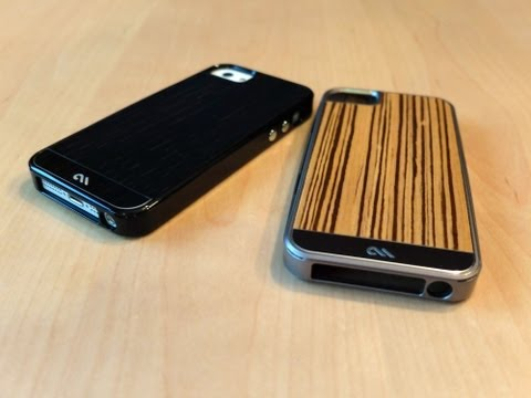 Case-Mate Crafted Woods Collection Cases for iPhone 5
