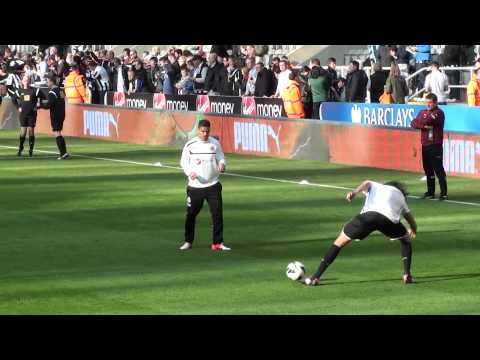Hatem Ben Arfa - Training for Newcastle United