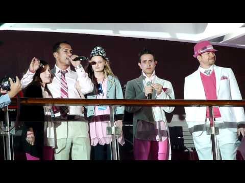 NKOTB Cruise 2011 - Pink Night - Danny talking about breast cancer