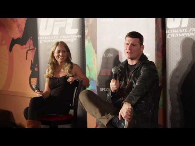 Michael Bisping amp Carly Baker UFC Fight Night 30 Manchester QampA