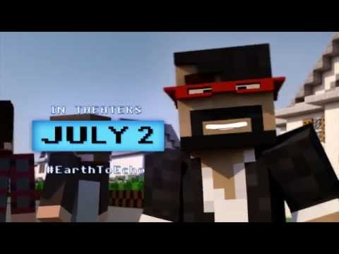 A Minecraft Animation of Earth to Echo TV Spot HD