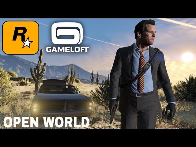 Top 10 OPEN WORLD GAMES by Rockstar and Gameloft for Android [High Graphics] thumbnail