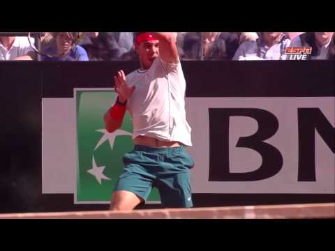 Nadal vs Federer Rome 2013 (HD) Full Match