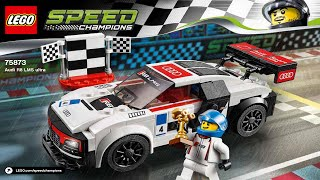 Lego 75873 Audi R8 LMS ultra Speed Champions (Instruction Booklet)