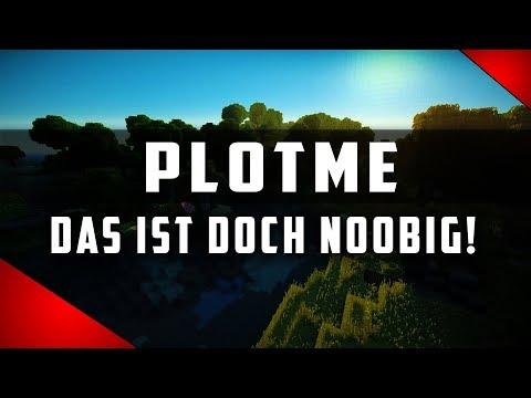 Minecraft Server Vorstellung | PlotMe ist für NOOBS? 😜 [1.8-1.12]