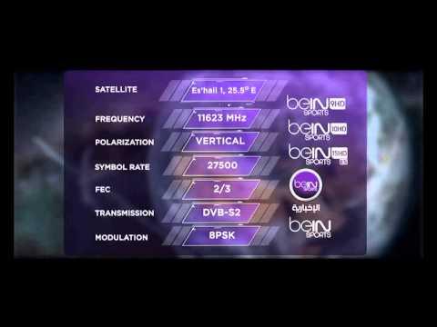Al Jazeera's new frequency - beIN SPORTS 2014