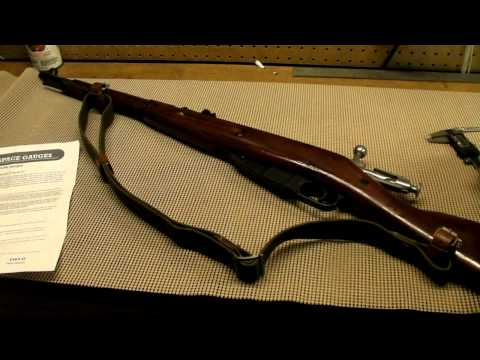 Checking Headspace On A Mosin Nagant Rifle M38 M44 91 30
