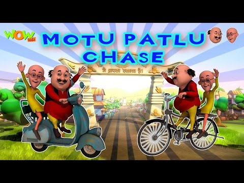Chase - Motu Patlu - Part 1 - 30 Minutes of Fun! thumbnail