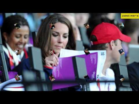 Catherine & Prince William at the London Olympic Games