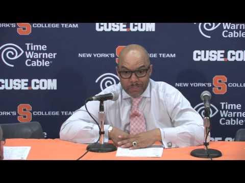 Coach Hillsman vs Boston College Post Game