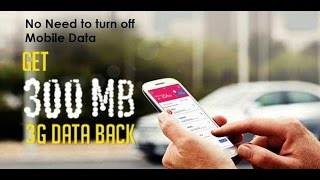 Databack - How to Get FREE Mobile Data Using Databack