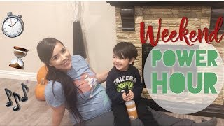 POWER HOUR CLEANING || CLEAN WITH ME || SPEED CLEAN