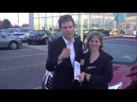 Woodchester Nissan:This Is My 2013 Nissan Altima for Terry and Nancy Thrower