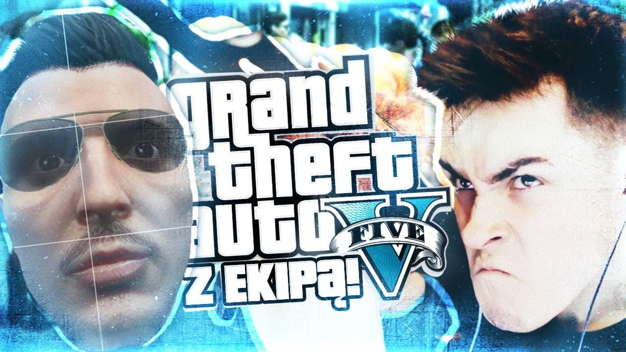 GANG REZIGIUSZ CREW! GTA V!