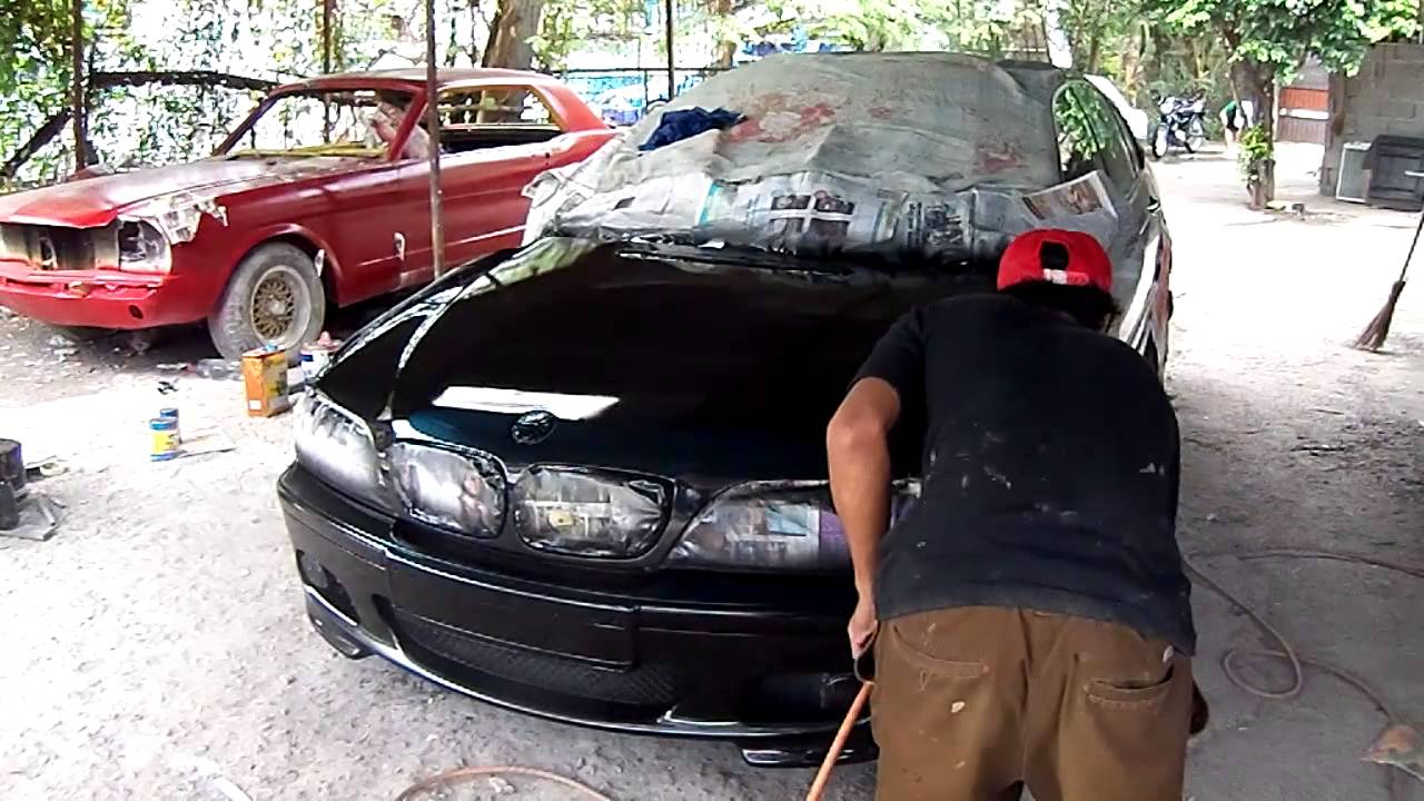 Car Repair Estimate >> BMW Painting Job - 7 Days only - YouTube